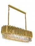 KRYSZTAŁOWA LAMPA WISZĄCA IMPERIAL GOLD KING HOME