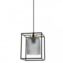 LAMPA WISZĄCA SINELLA ITALUX PND-23231-1-BK+SG