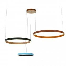 LAMPA WISZĄCA MANEZIA ITALUX PND-270160-3C-BL+BR+BK