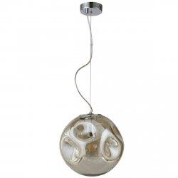 NOWOCZESNA LAMPA WISZĄCA ITALUX SIMAO PND-3693-L-1-CH+CGN