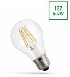 ŻARÓWKA LED GLS E-27 230V 9W COG NW CLEAR SPECTRUM NEUTRALNA