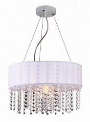 NOWOCZESNA LAMPA WISZĄCA LIGHT PRESTIGE MADRYT LP-81458/1P WH