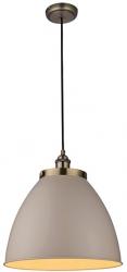 LAMPA WISZĄCA ENDON FRANKLIN 76327 BEŻOWA