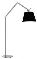 NOWOCZESNA LAMPA PODŁOGOWA AZZARDO ZYTA FLOOR ML2300-L ALU/BK