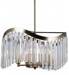 LAMPA WISZĄCA ITALUX SABRIGA PND-44544-3 ŻYRANDOL KRYSZTAŁOWY