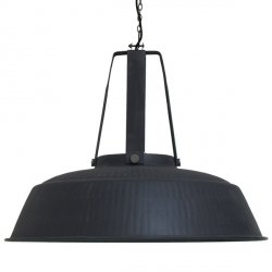 LAMPA WISZĄCA HK LIVING WORKSHOP XL CZARNY MAT BESTSELLER
