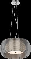 NOWOCZESNA LAMPA WISZĄCA SREBRNA ZUMA LINE TANGO MD1104-2