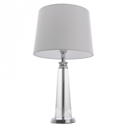 LAMPA STOŁOWA DO SALONU COSMO LIGHT CHARLOTTE T01332WH