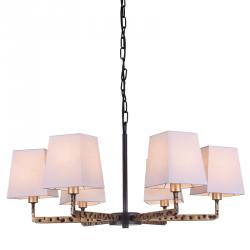 NOWOCZESNA LAMPA SUFITOWA COSMO LIGHT STOCKHOLM P06636BK AU