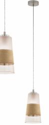 EGLO BURNHAM 49151 LAMPA WISZĄCA POJEDYNCZY ZWIS ZE SZKLANYM KLOSZEM