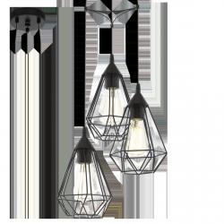 LAMPA WISZĄCA EGLO TARBES BLACK 94191