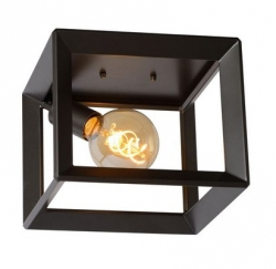 LAMPA SUFITOWA PLAFON THOR 73102/01/15 INDUSTRIALNA LOFT SZARE ŻELAZO