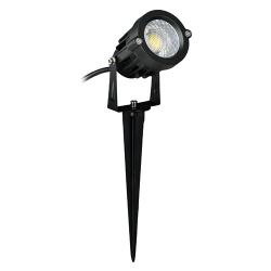 LAMPA OGRODOWA REFLEKTOR PLANT LED 03130 CZARNY IDEUS