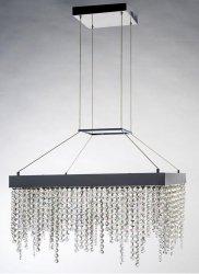 KRYSZTAŁOWA LAMPA WISZĄCA CRISTALLO S ORLICKI DESIGN