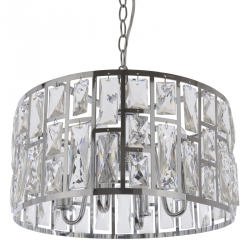 LAMPA WYSZĄCA GLAMOUR COSMO LIGHT MOSCOW II P04858CH