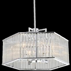 LAMPA WISZĄCA COSMO LIGHT GLASGOW P06384CH KRYSZTAŁOWA