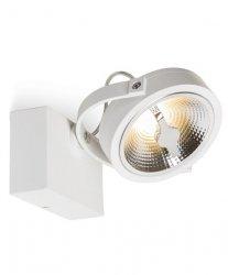 OPRAWA REFLEKTOR / KINKIET MILAGRO ML5703 LUGAR WHITE 1xAR111 GU10 LAMPA SPOT BIAŁA