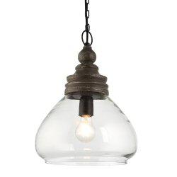 INDUSTRIALNA LAMPA SUFITOWA SZKLANA ENDON KERALA 90575