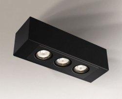 LAMPA SUFITOWA SPOT REFLEKTOR SETO H 1216 SHILO CZARNA