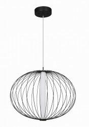 NOWOCZESNA LAMPA WISZĄCA LED LIGHT PRESTIGE TREVISO LP-798/1P S BK