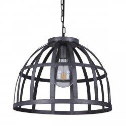 INDUTRIALNA LAMPA WISZĄCA CZARNA ITALUX CALERA PND-4114-40-1