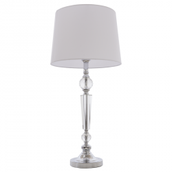 LAMPA STOŁOWA DO SALONU COSMO LIGHT CHARLOTTE T01295WH