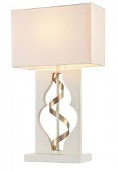 NOWOCZESNA LAMPA STOŁOWA GLAMOUR MAYTONI INTRECCIO ARM010-11-W