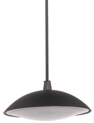 LAMPA WISZĄCA OGRODOWA ITALUX PIOMBINO 6694/BK-9 CZARNA LEDOWA