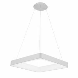 NOWOCZESNA LAMPA WISZĄCA LED ITALUX GIACINTO 5304-850SQP-WH-3 KWADRATOWA