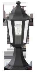 RABALUX LAMPA STOJĄCA OGRODOWA VELENCE 8206 CZARNA
