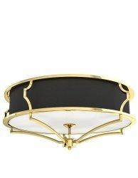 ZŁOTA LAMPA SUFITOWA GLAMOUR ORLICKI DESIGN STESSO PL GOLD/NERO M ORLICKI DESIGN