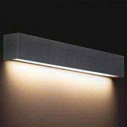 KINKIET LISTWA LED NAD LUSTRO STRAIGHT WALL LED 9618 METALOWY GRAFITOWA NOWODVORSKI