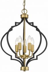 LAMPA WISZĄCA COSMO LIGHT NASHVILLE P05179BKAU