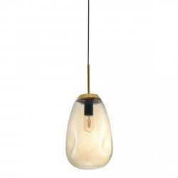 NOWOCZESNA LAMPA WISZĄCA ITALUX LAPOLA ZŁOTA PND-8028-1-CN