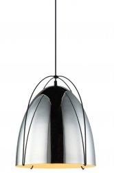NOWOCZESNA CHROMOWA LAMPA WISZĄCA ITALUX ZILLA MDM3346/1 COP