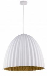 NOWOCZESNA LAMPA SUFITOWA SIGMA TELMA WHITE-GOLD 32022