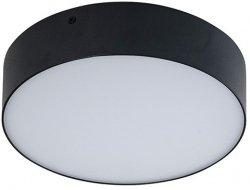 AZZARDO LAMPA SUFITOWA CZARNY PLAFON MONZA R 22  AZ2263