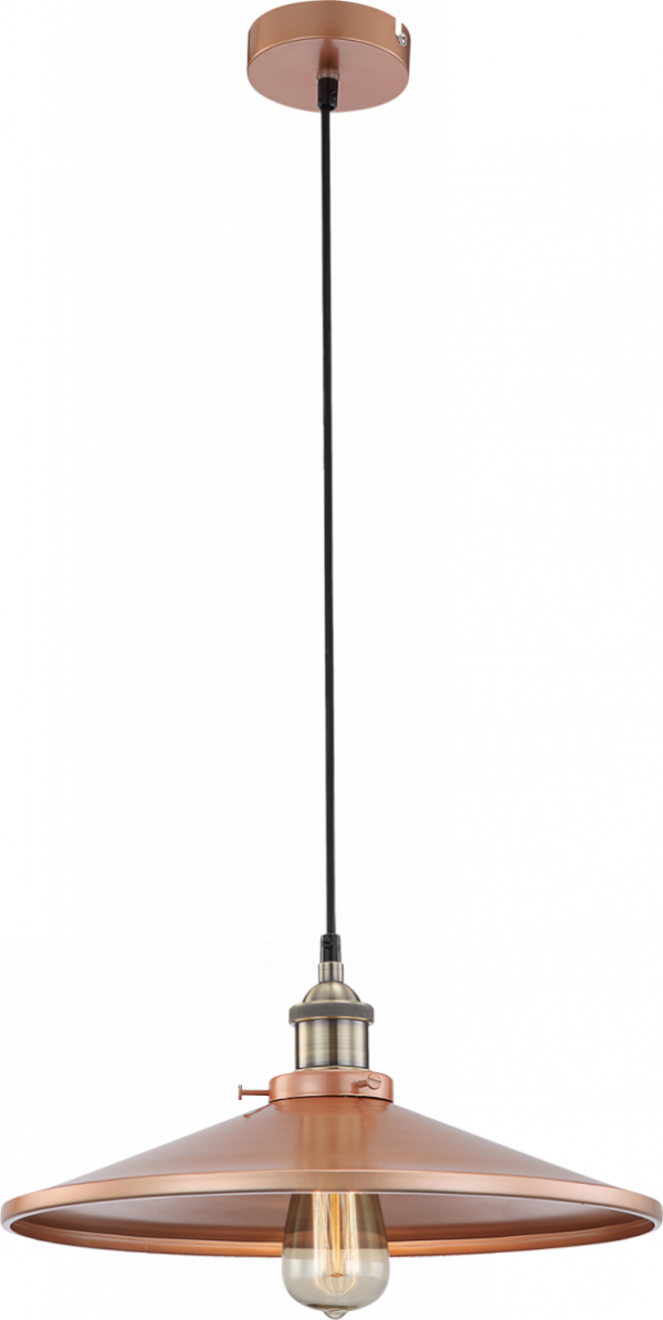 LAMPA WISZĄCA GLOBO KNUD 15060 CZARNA LOFT VINTAGE NAD STÓŁ