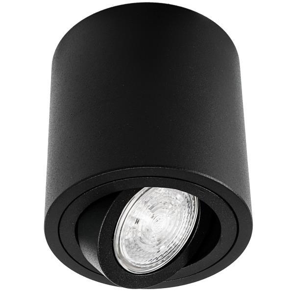 LAMPA SUFITOWA DOWNLIGHT TUBA CZARNA NOWOCZESNA / PROMOCJA