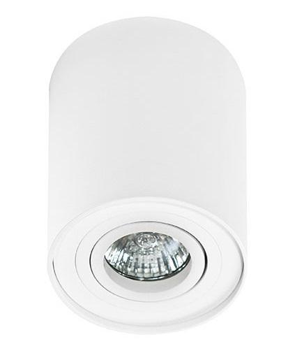 LAMPA SUFITOWA TUBA BIAŁA AZZARDO BROSS 1 WHITE