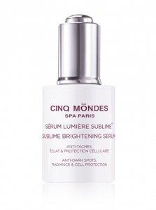 Sublime light serum/ Szlachetne serum rozświetlające