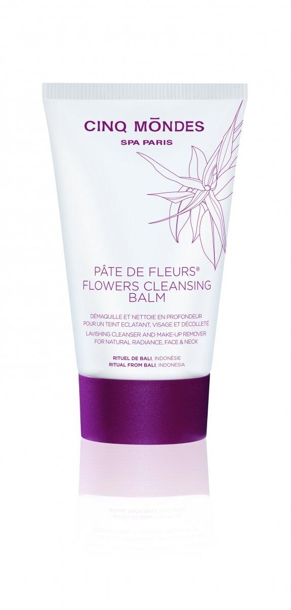 Flowers cleansing balm - kwiatowy balsam do mycia twarzy