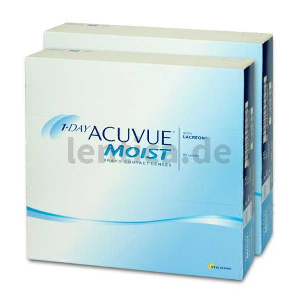1-Day Acuvue Moist , 2 x 90 Stck.