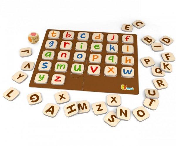 Viga 50535 Gra 2w1 - alfabet, memo