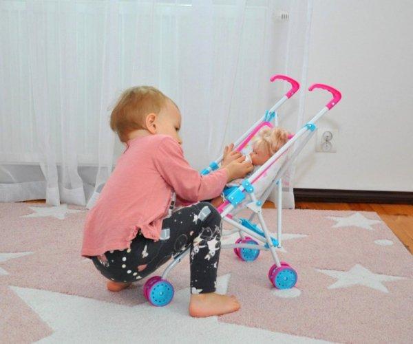 Wózek dla lalek Julia Candy