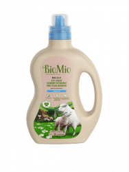 BioMio BIO-2-IN-1 Płynny detergent ECO do prania i odplamiacz 1500ml