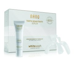 Zestaw Nano Whitewash Tooth Sensivity Serum KIT 30ml + nakładki