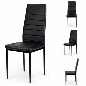 Zestaw 4 krzeseł do salonu jadalni ModernHome
