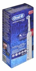 Szczoteczka do zębów Braun Junior Smart (elektryczna; kolor biały)