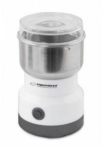 Młynek do kawy Esperanza Cappuccino EKC007W (100W; udarowy; kolor biały)
